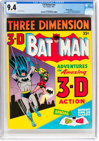 3-D Batman #nn Mohawk Valley Pedigree (DC, 1953) CGC NM 9.4 Off-white to white pages