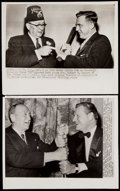 Baseball Collectibles:Photos, Ty Cobb Vintage Photograph Lot of 8.... (Total: 8 items)