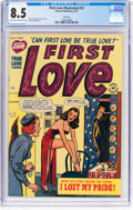 Golden Age (1938-1955):Romance, First Love Illustrated #12 File Copy (Harvey, 1951) CGC VF+ 8.5 Light tan to off-white pages....
