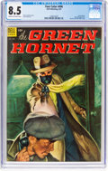 Golden Age (1938-1955):Miscellaneous, Four Color #496 The Green Hornet (Dell, 1953) CGC VF+ 8.5 Cream to off-white pages....