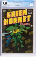 Golden Age (1938-1955):Superhero, Green Hornet Comics #31 (Harvey, 1946) CGC FN/VF 7.0 Off-white to white pages....
