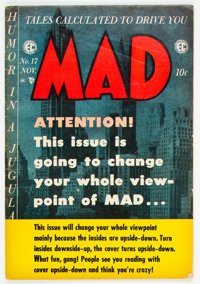 MAD #17 (EC, 1954) Condition: VG/FN