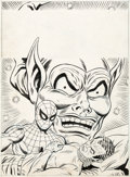 Original Comic Art:Covers, Dave Hunt and Mike Esposito (attributed) Spider-Man Comics Weekly #133 Cover Original Art (Marvel UK, 1975)....