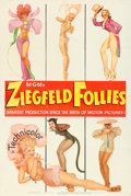 "Movie Posters:Musical, Ziegfeld Follies (MGM, 1945). Fine/Very Fine on Linen. One Sheet (27"" X 41"") Style D, George Petty Artwork.. ..."