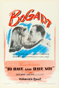 Movie Posters:Romance, To Have and Have Not (Warner Brothers, 1944). Very Fine on...