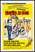 """Movie Posters:Comedy, Munster, Go Home (Universal, 1966) Folded, Fine/Very Fine. OneSheet (27"""" X 41""""). Comedy...."""