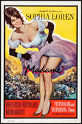 """Movie Posters:Foreign, Madame (Interfilm, 1961) Folded, Very Fine+. One Sheet (27"""" X 41""""). Foreign...."""