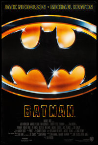 """Batman (Warner Brothers, 1989) Rolled, Very Fine+. One Sheet (27"""" X 40.5"""") SS. Action"""