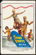 """Movie Posters:Rock and Roll, Surf Party (20th Century Fox, 1964) Folded, Fine+. One Sheet (27"""" X 41""""). Rock and Roll...."""