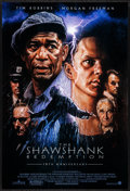 """Movie Posters:Drama, The Shawshank Redemption (Columbia, R-2004) Rolled, Very Fine/Near Mint. 10th Anniversary One Sheet (27"""" X 40"""") DS, Drew Str..."""