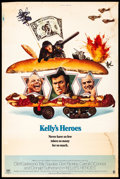 "Movie Posters:War, Kelly's Heroes (MGM, 1970) Rolled, Fine-. Poster (40"" X 60""). War. . ..."