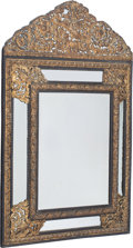 Furniture, A Baroque-Style Gilt Metal Mirror, circa 1900. 56-1/2 x 37 x 4 inches (143.5 x 94.0 x 10.2 cm). PROPERTY FROM THE COLLECTI...