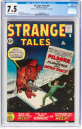 Silver Age (1956-1969):Adventure, Strange Tales #94 (Marvel, 1962) CGC VF- 7.5 Cream to off-white pages....