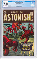 Silver Age (1956-1969):Science Fiction, Tales to Astonish #29 (Marvel, 1962) CGC FN/VF 7.0 Off-whitepages....