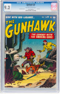 Golden Age (1938-1955):Western, The Gunhawk #18 (Atlas, 1951) CGC NM- 9.2 Off-white to white pages....