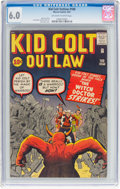 Silver Age (1956-1969):Western, Kid Colt Outlaw #100 (Atlas/Marvel, 1961) CGC FN 6.0 Off-white towhite pages....