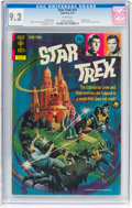 Bronze Age (1970-1979):Science Fiction, Star Trek #15 (Gold Key, 1972) CGC NM- 9.2 White pages....