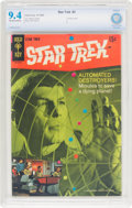 Silver Age (1956-1969):Science Fiction, Star Trek #3 (Gold Key, 1968) CBCS NM 9.4 Off-white to whitepages....