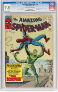 Silver Age (1956-1969):Superhero, The Amazing Spider-Man #20 (Marvel, 1965) CGC VF- 7.5 Cream to off-white pages....
