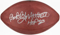 Autographs:Footballs, Bobby Mitchell Signed Football....