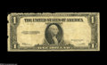 Fr. 40 $1 1923 Legal Tender. Good-Very Good. This well circulated note is missing the red denomination counter, serial a...