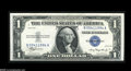 Error Notes:Inverted Reverses, Fr. 1607 $1 1935 Inverted Reverse Silver Certificate. About New....