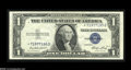 Error Notes:Blank Reverse (100%), Fr. 1614* $1 1935E Silver Certificate. Choice About Uncirculated....