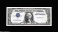 Error Notes:Inverted Third Printings, Fr. 1614* $1 1935E Silver Certificate Extremely Fine....