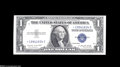 Error Notes:Inverted Third Printings, Fr. 1617 $1 1935G Silver Certificate. Choice Crisp Uncirculated....