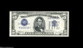 Error Notes:Inverted Third Printings, Fr. 1653 45 1934C Silver Certificate. Extremely Fine+....