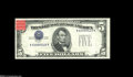 Error Notes:Inverted Third Printings, Fr. 1655 $5 1953 Silver Certificate Gem Crisp Uncirculated....