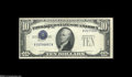 Error Notes:Inverted Third Printings, Fr. 1707 $10 1953A Silver Certificate Choice Crisp Uncirculated....