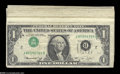 Error Notes:Inverted Third Printings, A Large Group of Circulated Inverted Third Overprint $1 Notes....(16 notes)