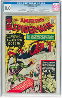 The Amazing Spider-Man #14 (Marvel, 1964) CGC VF 8.0 White pages