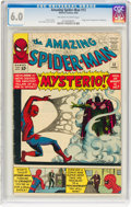Silver Age (1956-1969):Superhero, The Amazing Spider-Man #13 (Marvel, 1964) CGC FN 6.0 Off-white to white pages....