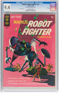 Silver Age (1956-1969):Science Fiction, Magnus Robot Fighter #14 File Copy (Gold Key, 1966) CGC NM 9.4 Off-white to white pages....