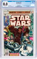 Bronze Age (1970-1979):Science Fiction, Star Wars #3 35¢ Price Variant (Marvel, 1977) CGC VF 8.0 Off-white pages....