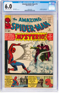 Silver Age (1956-1969):Superhero, The Amazing Spider-Man #13 (Marvel, 1964) CGC FN 6.0 Cream to off-white pages....