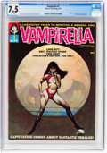 Magazines:Horror, Vampirella #1 (Warren, 1969) CGC VF- 7.5 White pages....