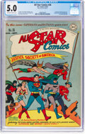 Golden Age (1938-1955):Superhero, All Star Comics #36 (DC, 1947) CGC VG/FN 5.0 Off-white to white pages....