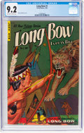 Golden Age (1938-1955):Adventure, Long Bow #1 (Fiction House, 1951) CGC NM- 9.2 Off-white to white pages....