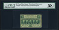 Fractional Currency:First Issue, Fr. 1310 50¢ First Issue PMG Choice About Unc 58 EPQ.. ...