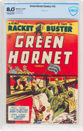 Golden Age (1938-1955):Superhero, Green Hornet Comics #45 (Harvey, 1949) CBCS VF 8.0 Cream to off-white pages....