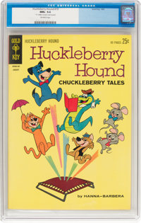Huckleberry Hound #19 (Gold Key, 1963) CGC NM+ 9.6 Off-white pages