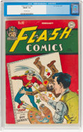 Golden Age (1938-1955):Superhero, Flash Comics #80 (DC, 1947) CGC FN/VF 7.0 Off-white pages....