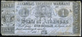 Obsoletes By State:Arkansas, (Little Rock), AR- State of Arkansas $1 May 9, 1863 Cr. 32a Fine.. ...