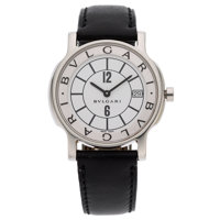 Bvlgari Gentleman's Stainless Steel Solotempo Watch