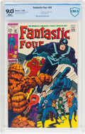 Silver Age (1956-1969):Superhero, Fantastic Four #82 (Marvel, 1969) CBCS VF/NM 9.0 White pages....