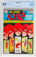 Silver Age (1956-1969):Superhero, The Flash #169 (DC, 1967) CBCS VF+ 8.5 White pages....