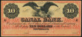 Obsoletes By State:Louisiana, New Orleans, LA- New Orleans Canal & Banking Company $10 18__ Remainder Crisp Uncirculated.. ...